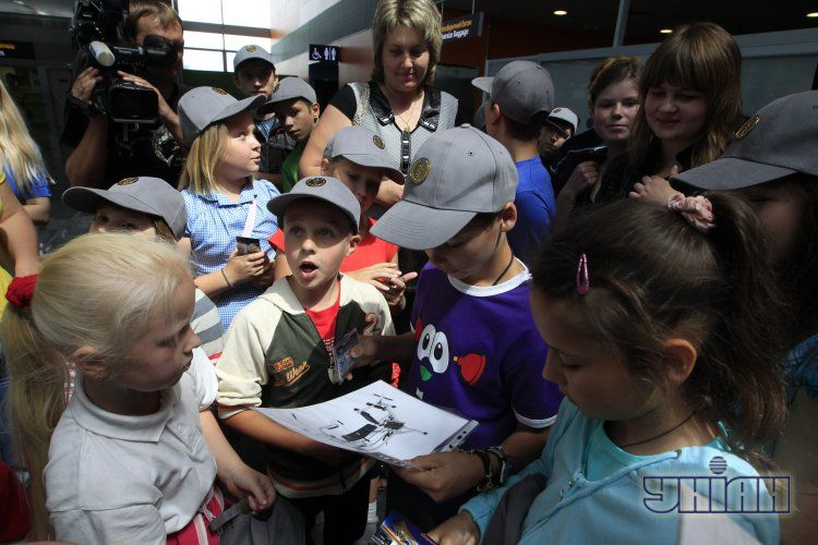 Діти в Борисполі