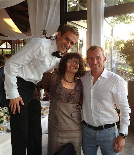 Марко Девич в Сербии обвенчался со своей подругой