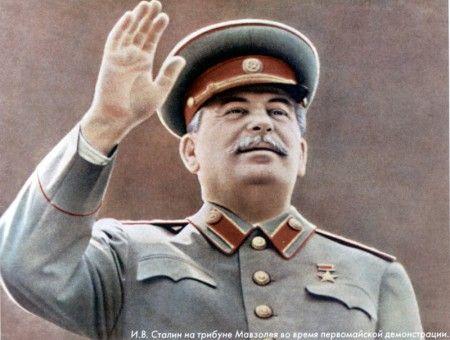 В Сибири установили памятник Сталину