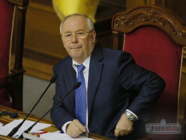 Председатель Рады начал заседание с перерыва
