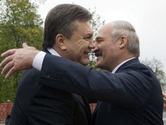 Виктор Янукович и Александ Лукашенко