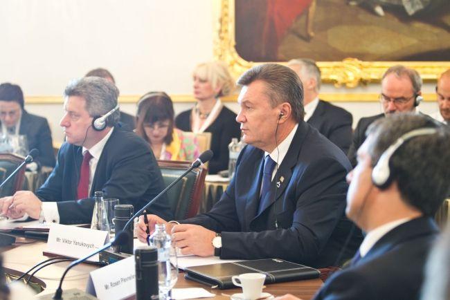 Виктор Янукович в Братиславе