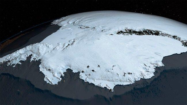 Подо льдами Антарктиды может быть горячая мантийная порода