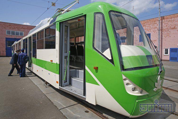 Киевские трамваи не вышли на линии