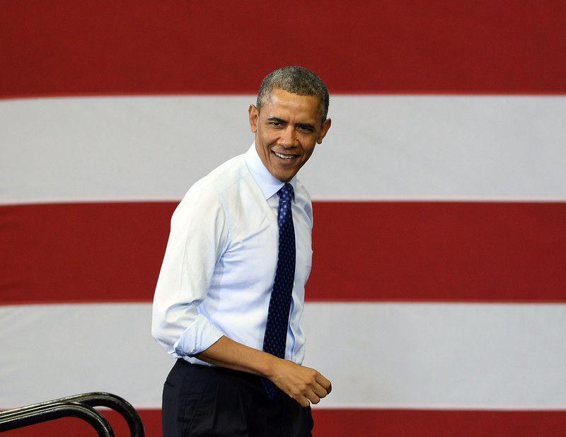 Запись Обама сделал во время волнений в Вирджинии