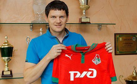 Тарас Михалик в Локомотиве