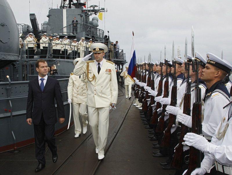 Один из пунктов Харьковских соглашений: продолжение базирования ЧФ РФ в Крыму