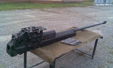 Контрабандная пушка, иллюстрация