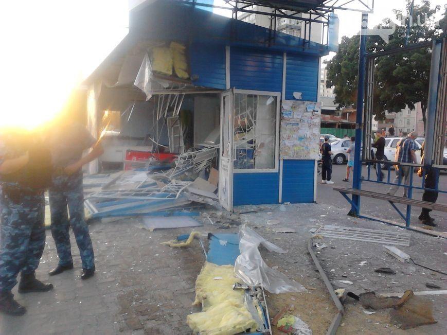 Фото с места ДТП в Сумах