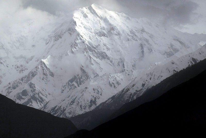 Фото с вертолета армии Пакистана