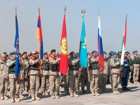 К шести флагам членов ОДКБ может добавиться украинский