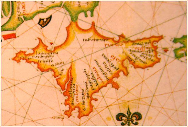 Atlas Diogo Hohem 1559 год.