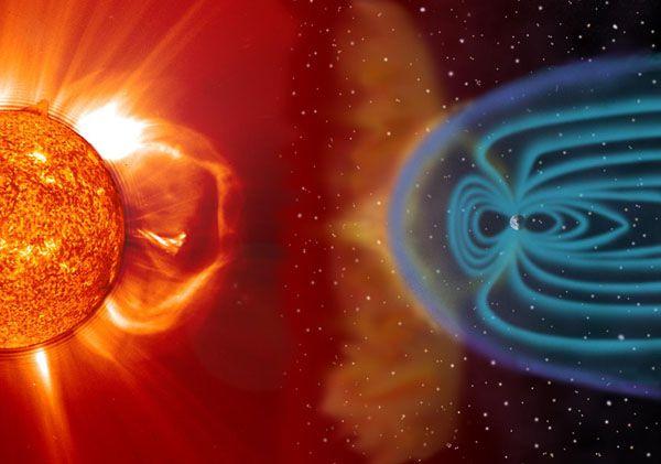 В Украине 7 и 17 мая ожидаются возможны магнитные бури