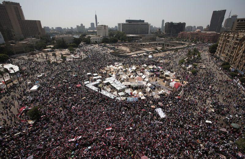 Протесты в центре Каира