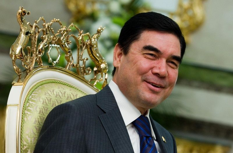 Лидер Туркменистана Гурбангулы Бердымухамедов