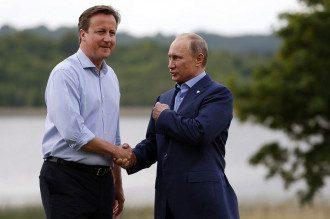 Кэмерон и Путин. Когда-то Россия была в