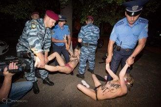 Милиция опровергла похищение активисток. Иллюстрация