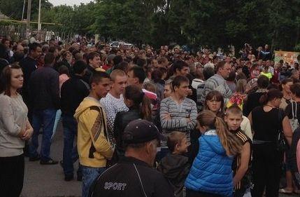 Митинг во Врадиевке закончился бунтом