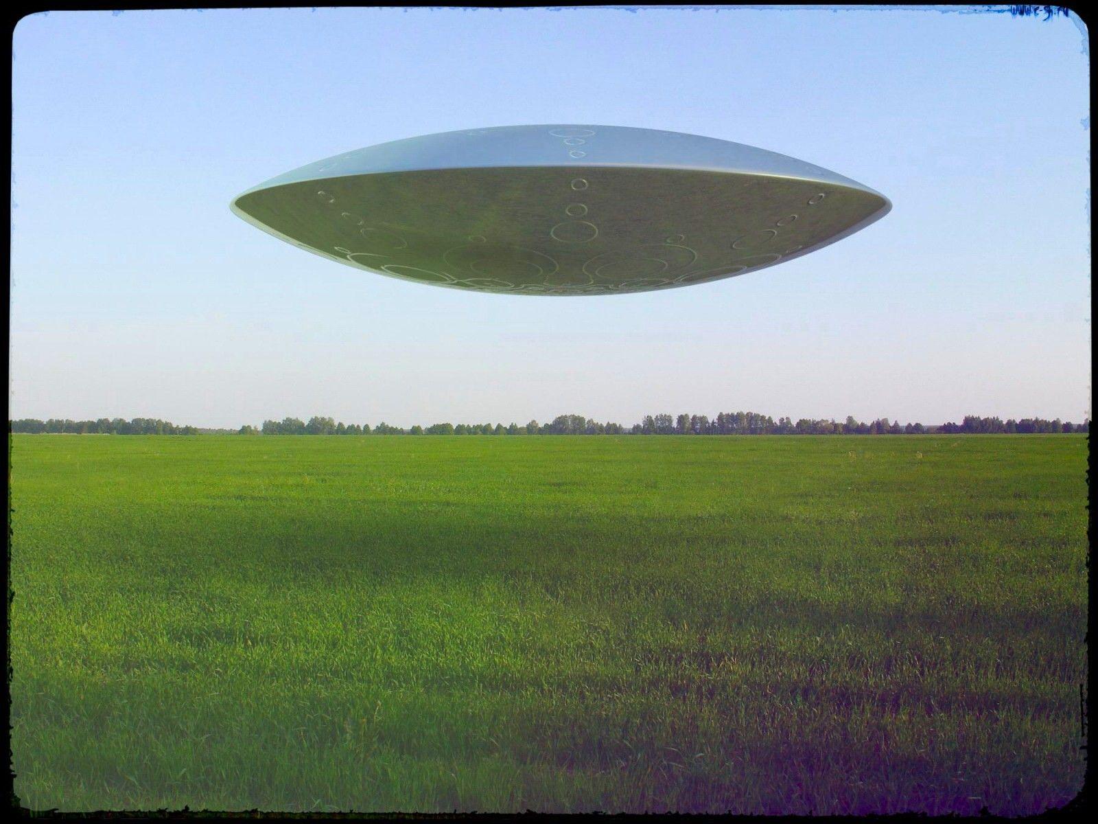 В США засняли огненное НЛО.