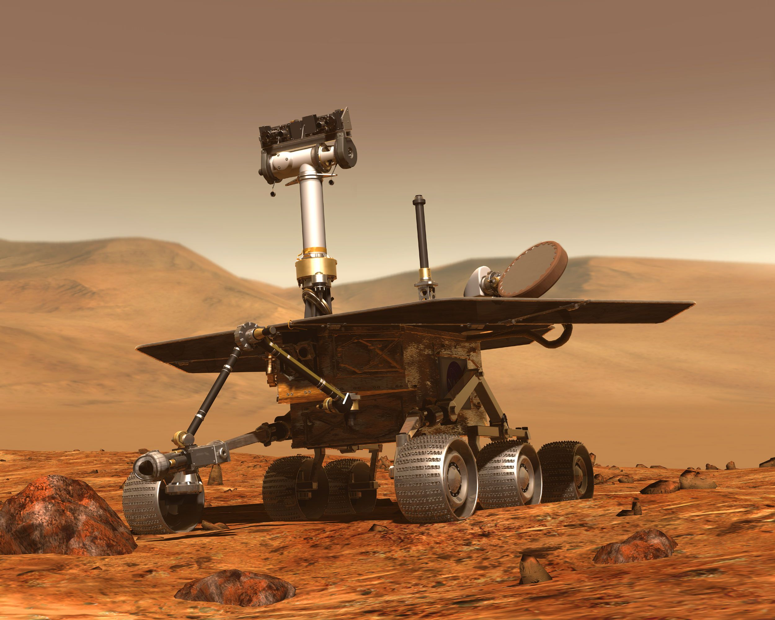 Камеры марсохода нашли странные структуры