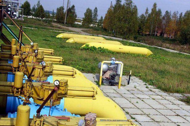 Украина прекратила закачку газа в ПХГ