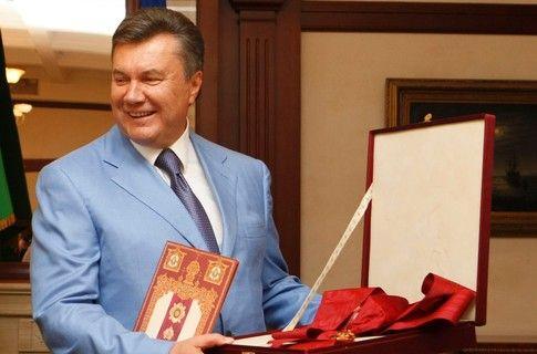 У Виктора Януковича праздник