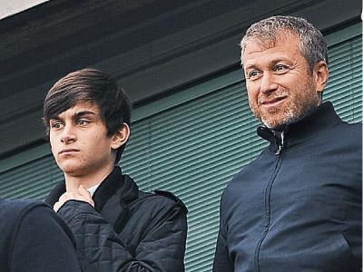 Роман Абрамович с сыном