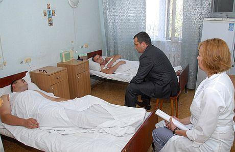 Захарченко поговорил с пострадавшими