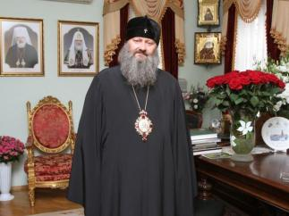 Владыка Павел - настоятель Киево-Печерской Лавры