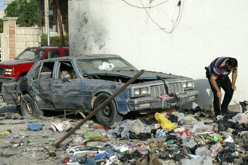 В Багдаде произошла серия терактов, иллюстрация