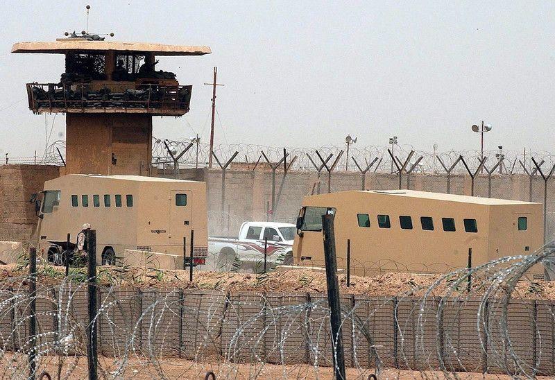 Знаменитая тюрьма Абу-Грейб в Ираке