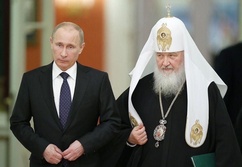 Владимир Путин и патриарх Кирилл приедут в Киев