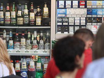 Алкоголь  продавали под видом  известных торговых марок