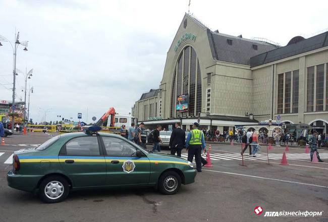 Киевский железнодорожный возал