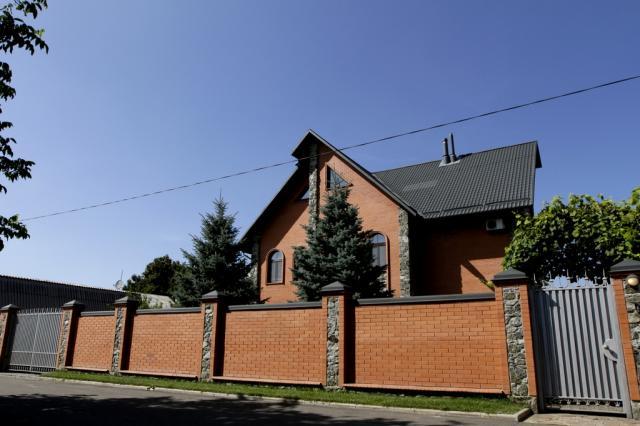 Один из домов, построенных Мельником