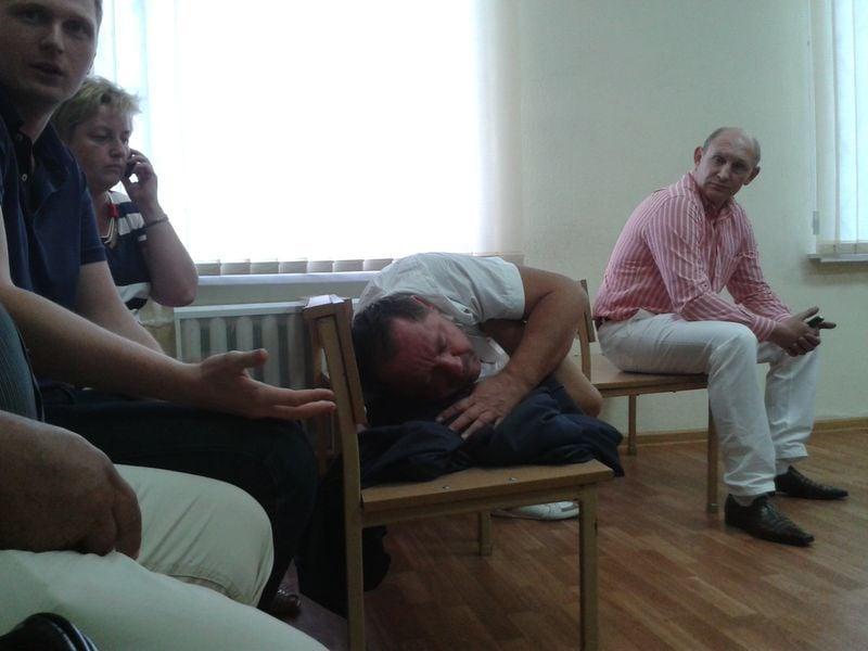 Петр Мельник в суде