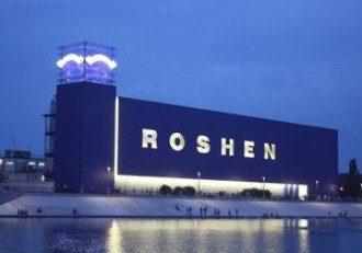 Фабрика Roshen в Киеве