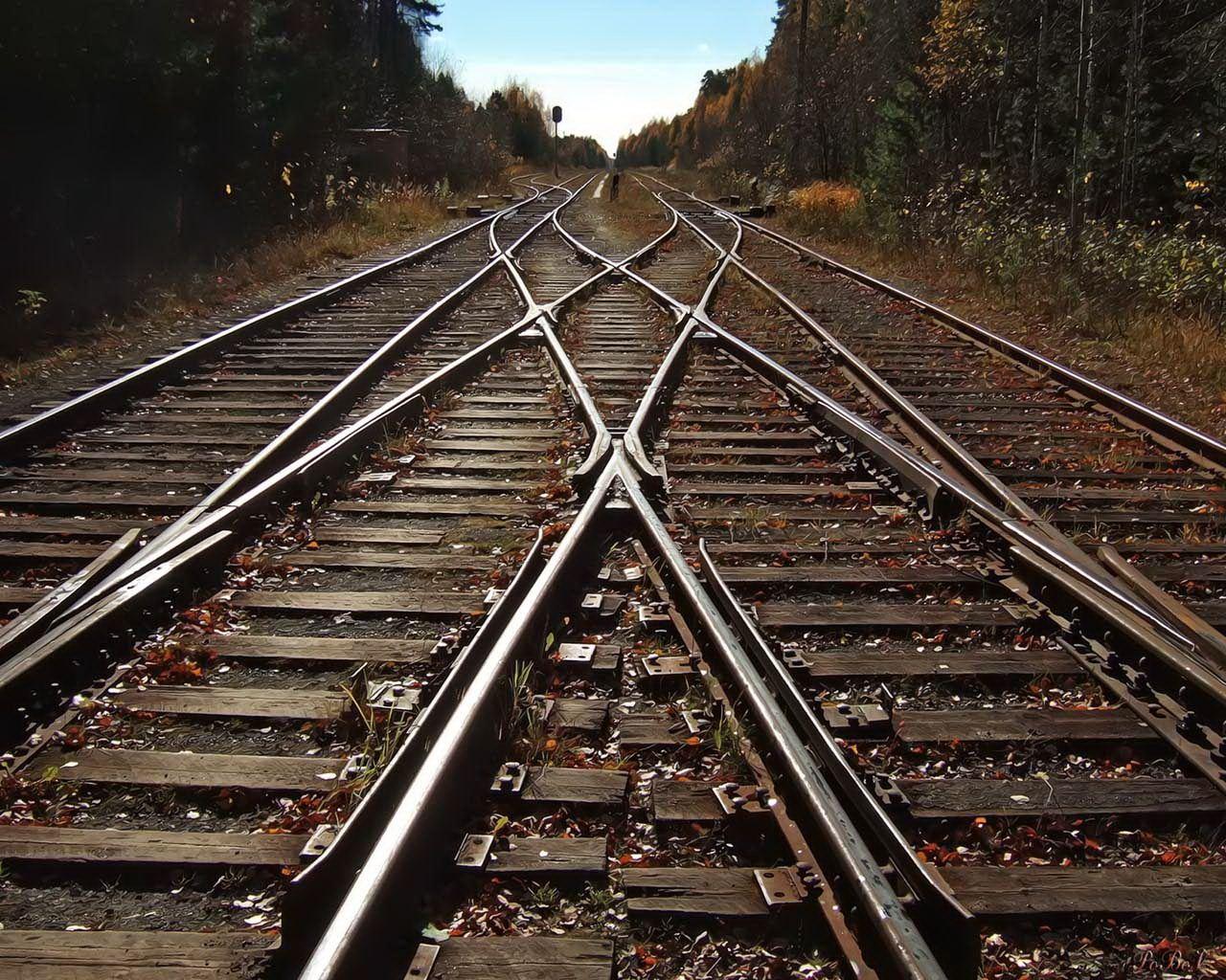 Железная дорога, иллюстрация
