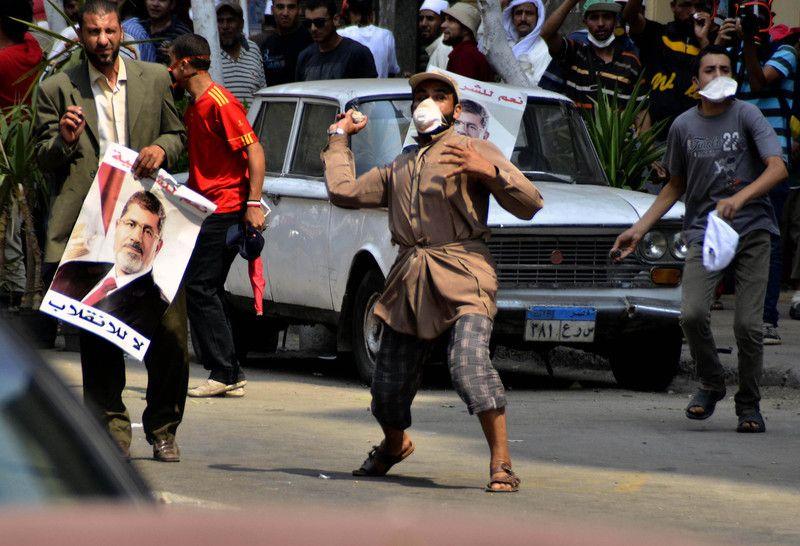 В Египте происходят массовые волнения