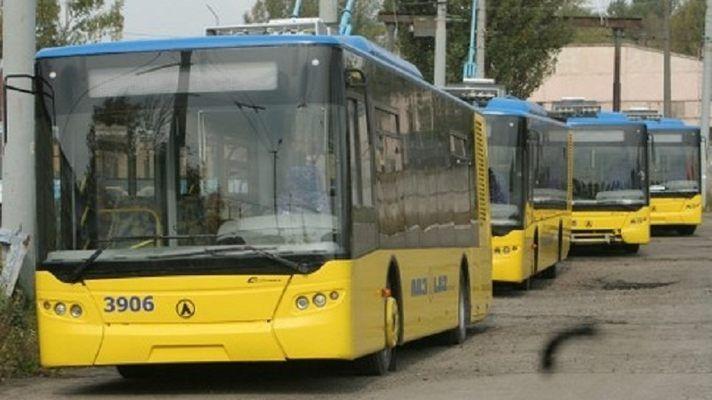 Троллейбусы, иллюстрация