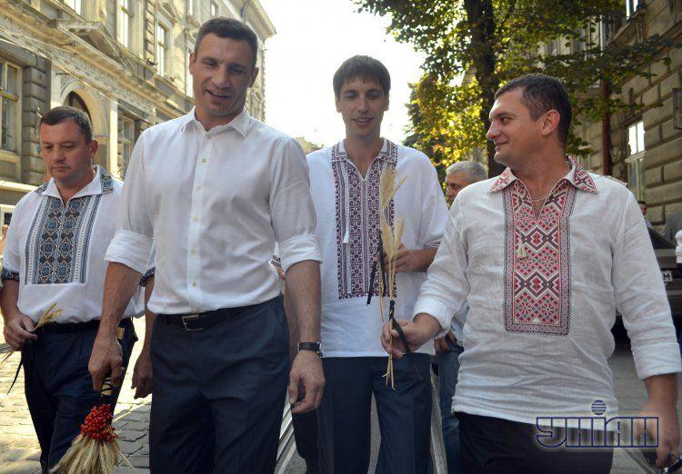 Виталий Кличко Х Всемирном конгрессе украинцев