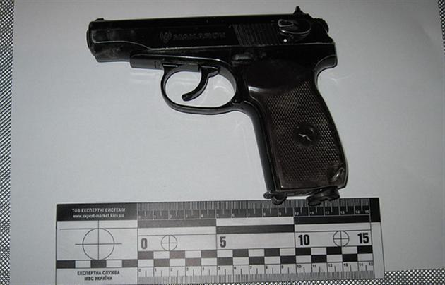 Следователи изъяли пистолет Umarex