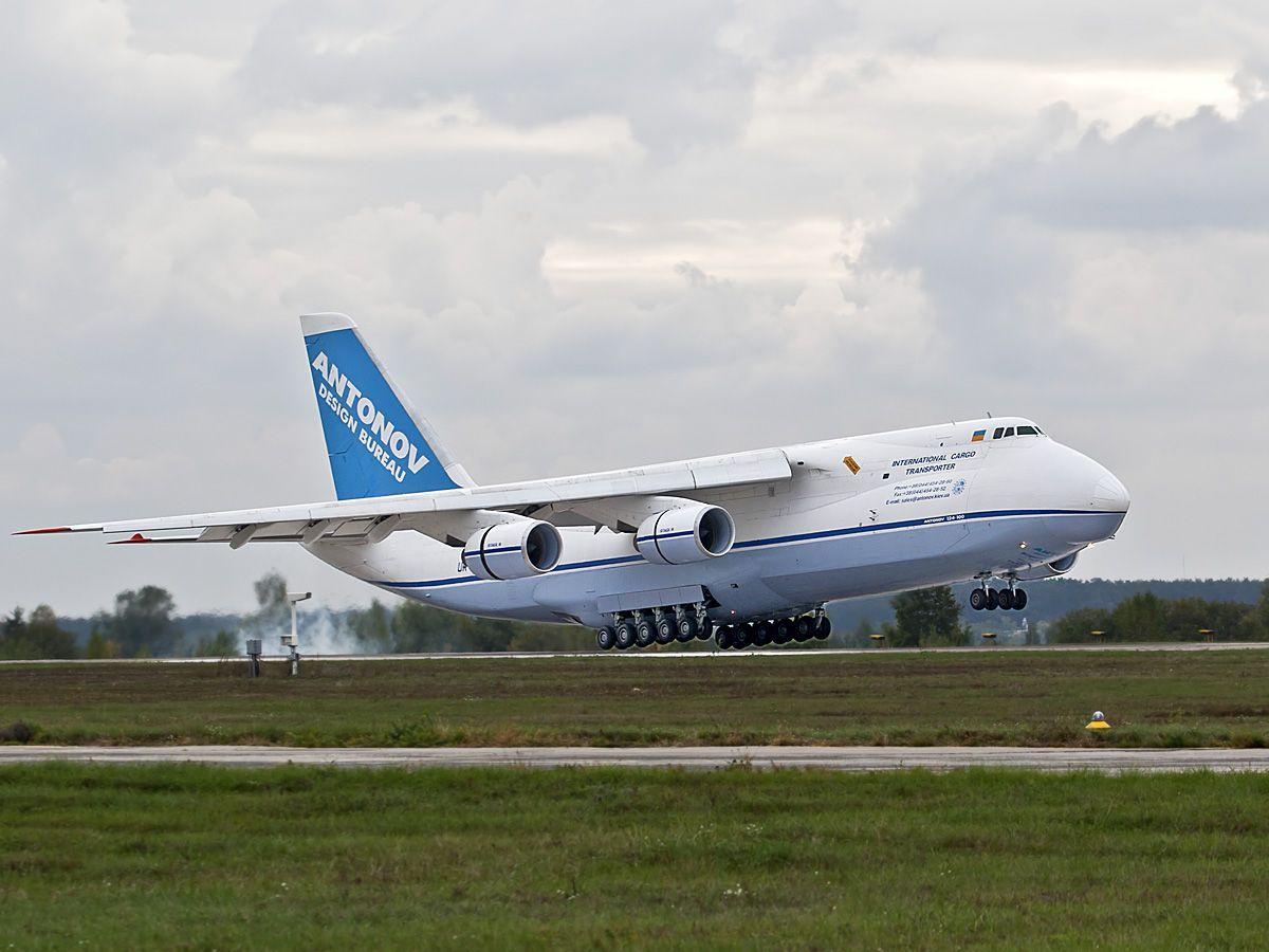 Ан-124 стал звездой на авиашоу в Турции