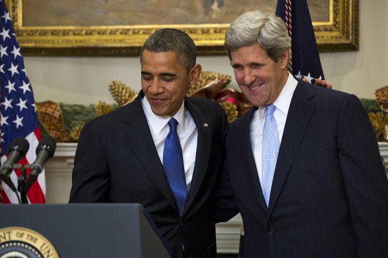 Барак Обама и Джон Керри
