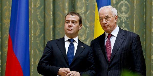 Премьеры Украины и России: Азаров и Медведев