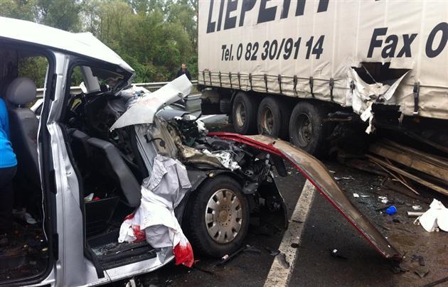 В аварии пострадали пять человек, одна женщина – погибла