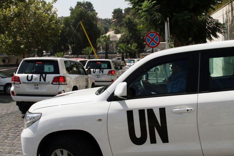 Инспектора ООН после химатаки в Сирии