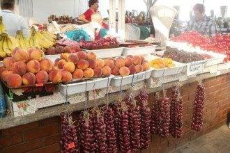 На крымских рынках персики - по 5 гривен