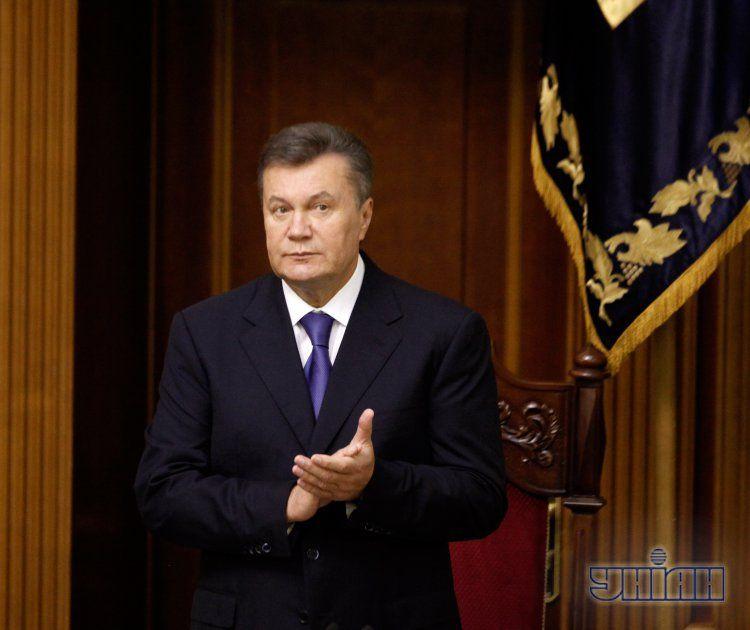 Виктор Янукович был на открытии Рады