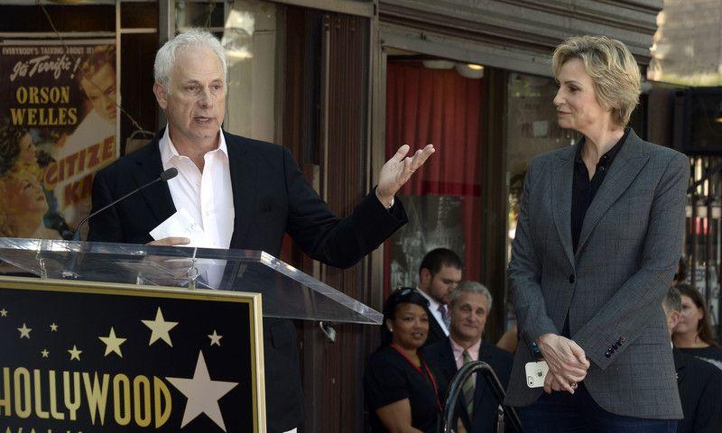 На Аллее славы в Голливуде открыли звезду Джейн Линч